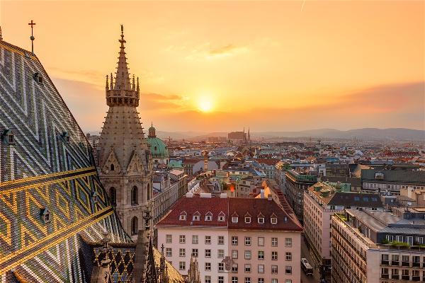 Столица Австрии город Вена