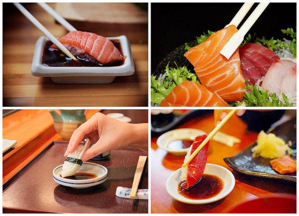 Суши какправильно есть
