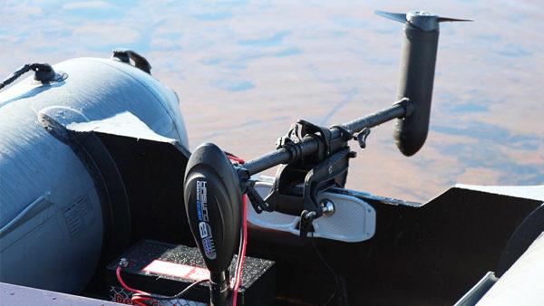 Электродвигатель для катера
